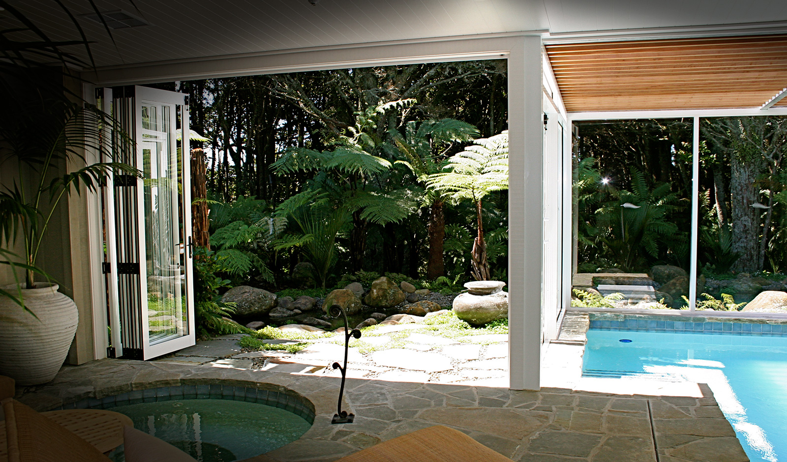Kauri Cliffs Spa - Landscaping by Hawthorn Landscapes Kerikeri