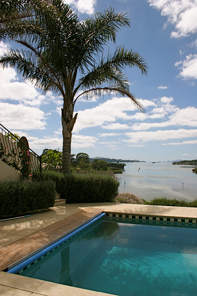 Pool and garden design Kerikeri