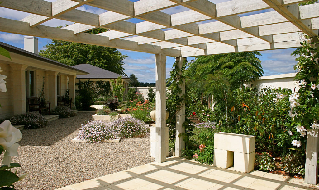 Kerikeri garden design by Hawthorn Landscapes