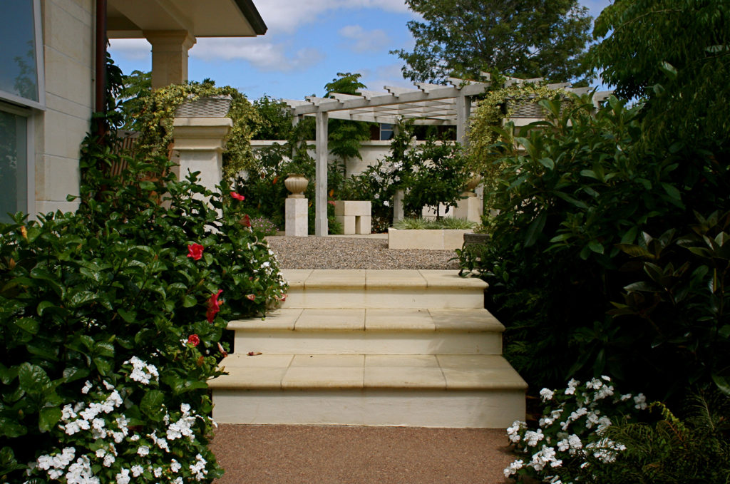 pretty garden design kerikeri