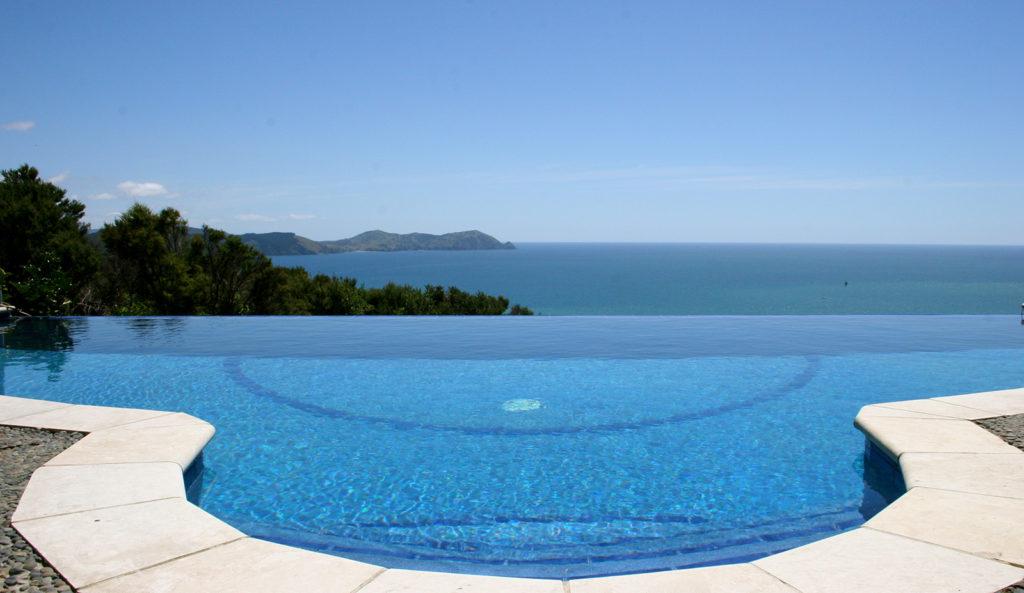 infinity pool at rongotai
