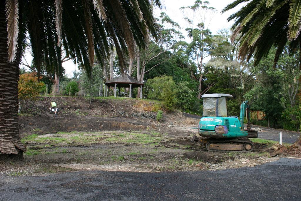 work begins on subtropical garden in northland